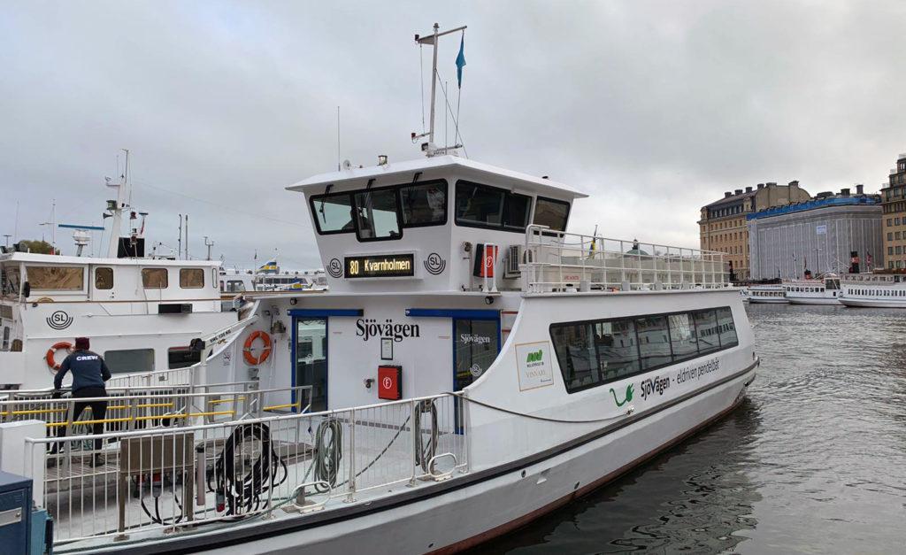 Il Ferry Boat di Stoccolma