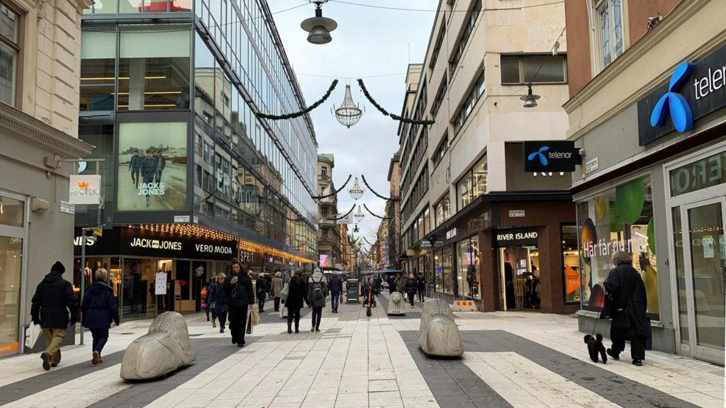 La parte nuova di Stoccolma