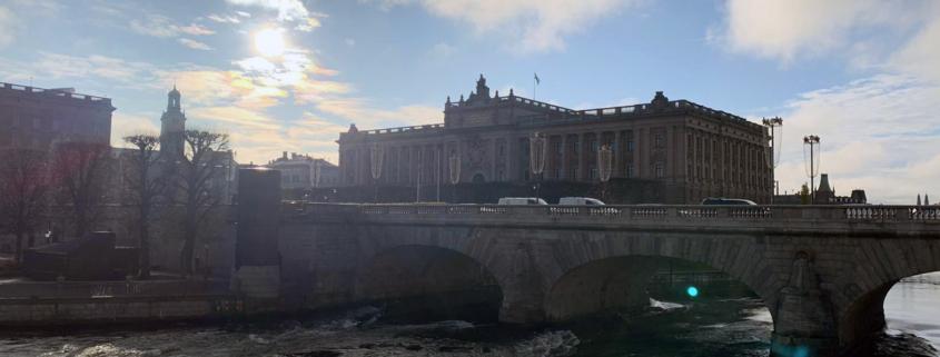 Lo storico ponte di Djurgårdsbron