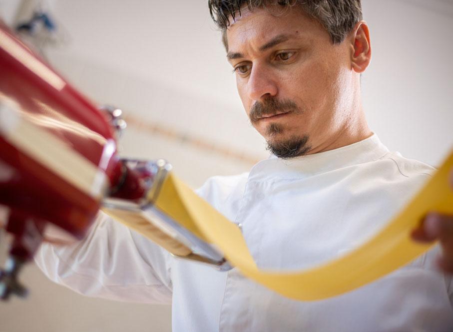 Chef Giampiero Vento ristorante Tenuta Montemagno